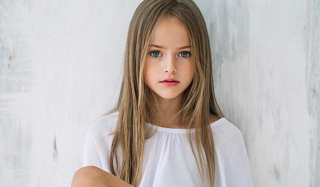 Кристина Пименова в свои 9 лет уже признанная модель.