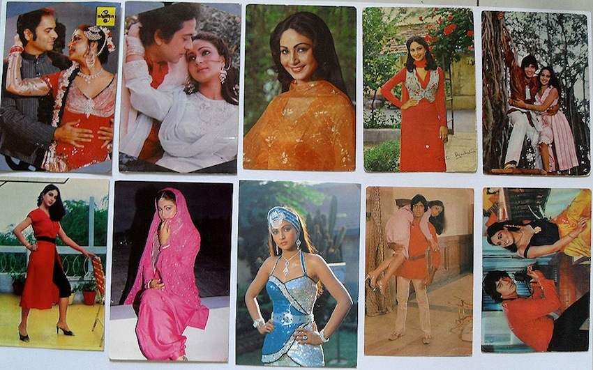 Индийские открытки с актерами 64