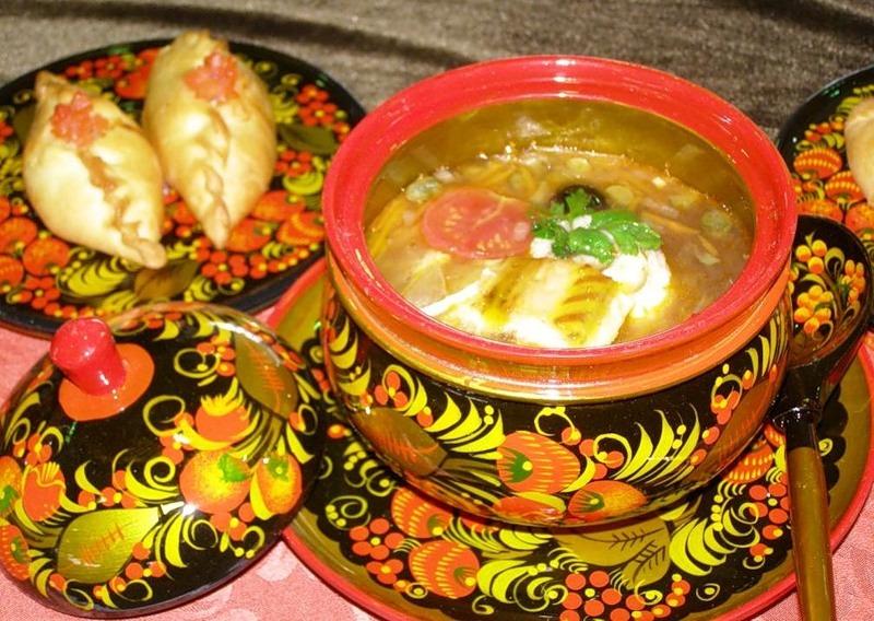 Русские национальные блюда с картинками