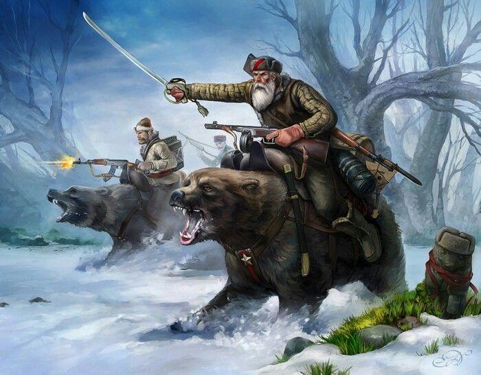 Картинки военный медведь