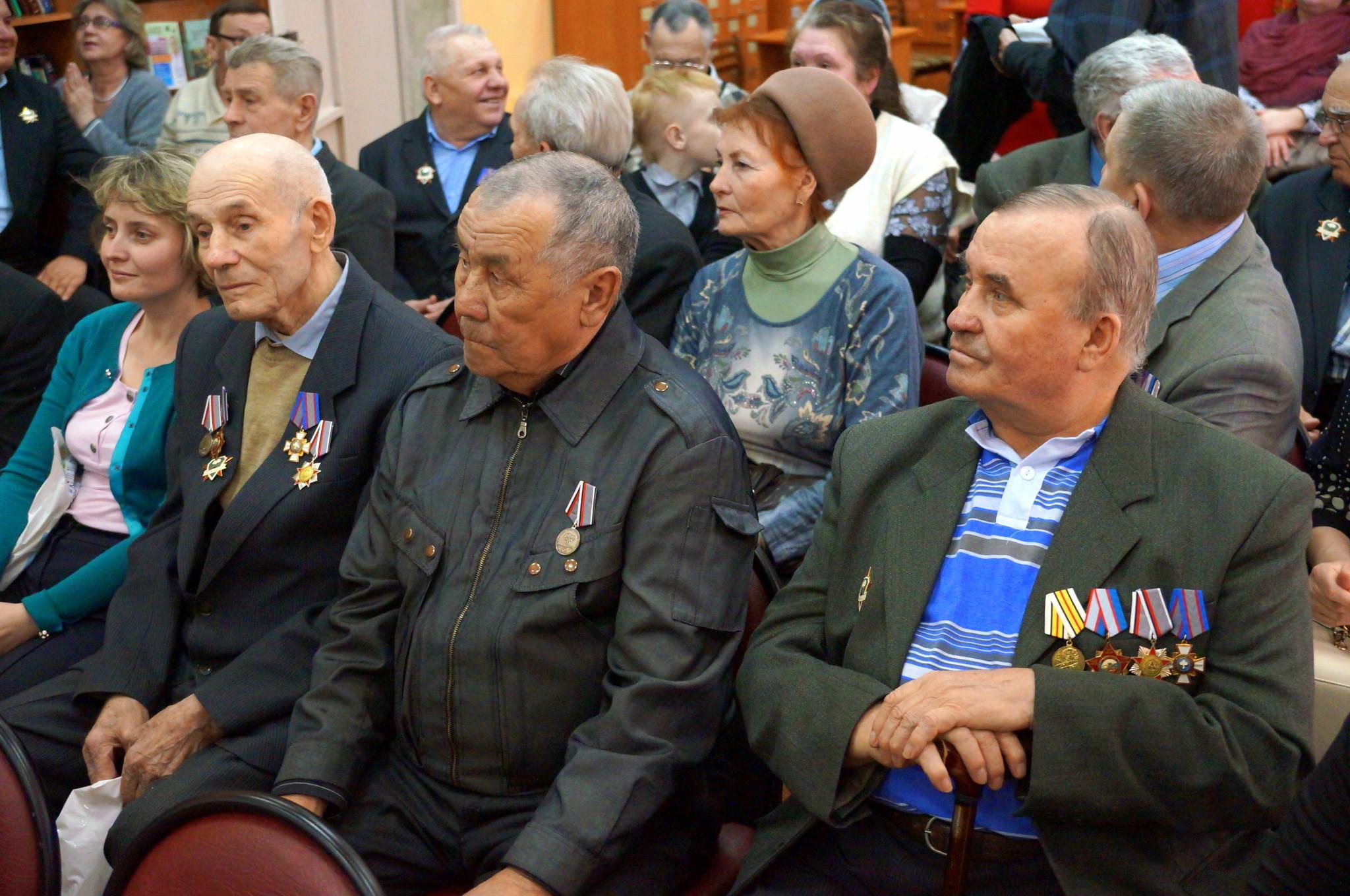 Торжественный приём ветеранов Подразделения Особого Риска