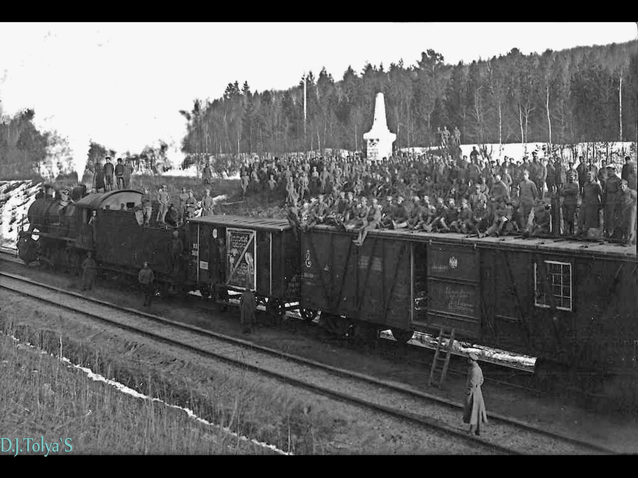 этого сибирские поезда идут на фронт фото только повышает безопасность